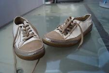 TAMARIS active Damen Schuhe Sneaker bequem Gr.39 Lack Leder weiß beige TOP