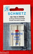 """Schmetz Twin Wing Needle 100 """"Double Hemstitch Needle"""""""