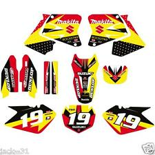 vinyl RACING SUZUKI RM 125 RM125 RM250 250 VINYL MX Motocross Graphic Kit 2003