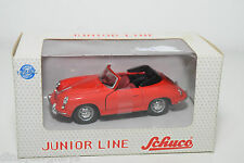 SCHUCO JUNIOR LINE 27003 PORSCHE 356 CABRIO RED MINT BOXED