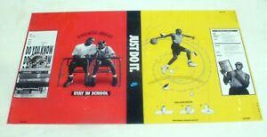 1997 Michael Jordan NIKE Poster Bookcover Mars Blackmon Spike Lee Stay in School