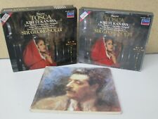 W.GERMANY POLYGRAM FS- Puccini: Tosca 2-CD SOLTI Nucci/Te Kanawa/Aragall Box Set