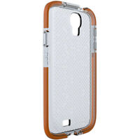 Clear Case Cover For Samsung Galaxy S4 I9500 I9505 by Tech21 D3O Impact Mesh