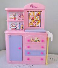 Happy Family Barbie Doll Midge Baby Accessory Nursery Change Table Tub Furniture