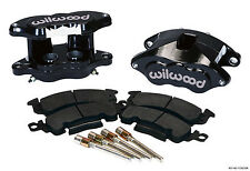 "WILWOOD D52 BRAKE CALIPER & PAD SET W/PINS,REAR,1.28"",BLACK,BIG GM CALIPERS,PADS"