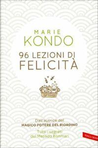 LIBRO 96 LEZIONI DI FELICITA' - MARIE KONDO