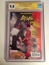 CGC 9.8 SS Batman '66 The Lost Episode #1 signed Ross, Garcia-Lopez, Wein +2