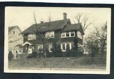 Private photo of house probably South Orange Sent to Sweden 1923