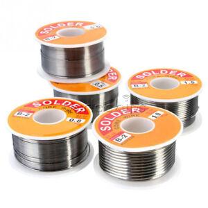 100g 0.5MM 0.6MM 0.8MM 1.0MM 1.2MM 1.5MM Melt Rosin Core Solder Soldering Wire