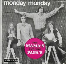 The MAMAS & THE PAPAS EP FRANCE MONDAY MONDAY/HEY GIRL THE IN CROWD YOU BABY