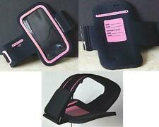 Tech Essentials Motion Armband for iPhone 4/4S Black & Hot Pink Sports Running