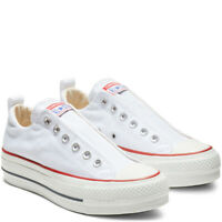 Converse All Star Chuck Taylor Lift Low Top Women White Fashion Sneakers 563457C