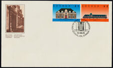 Canada 1181-2 on FDC - Runnymede Library, McAdam Railway Station