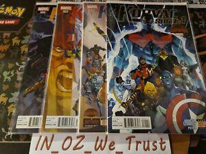 Korvac Saga #1-4 Secret Wars (Marvel Comics, 2015)