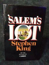 Stephen King Salem's Lot Book Club Edition NICE