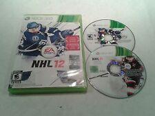 NHL 12 XBOX 360 MICROSOFT COMPLET NTSC US