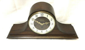 Beautiful Vintage Welby Westminster Chime Mantel Mantle Tambour Clock Working