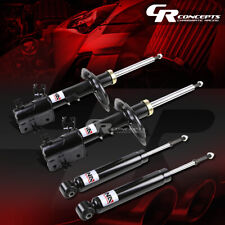 4PCS BLACK FRONT+REAR GAS SHOCK ABSORBER STRUT LH+RH FOR 03-07 NISSAN MURANO Z50