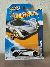 2012 HOT WHEELS  FASTER THAN EVER 12 . MAZDA FURAI . PROTECTO PAK.
