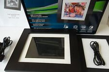 "PanDigital 7"" LCD Digital Photo Frame On/Off Alarm CF SD 1024MB 4:3 PAN7000DW"