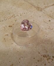 7 Carat TOP VVS Quality HEART Cut Pink TOPAZ Loose Gemstone Ready to Set!