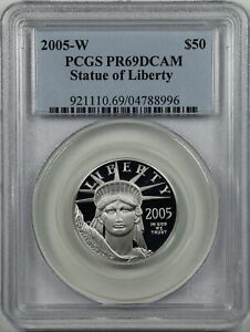 2005-W $50 Proof Platinum American Eagle PR69DCAM PCGS 04788996