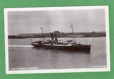 SS Reindeer at Jersey RP pc unused W de Guerin Ref H38
