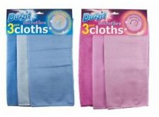 Microfibre Cleaning Cloths Pack of 3 DZT1090