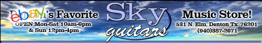 Sky Guitars Music Store