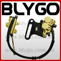 15mm Hydraulic Rear Disc Brake Caliper System 110 125cc 140cc PIT PRO Dirt Bike