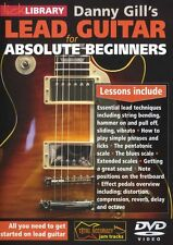 LICK LIBRARY LEAD GUITAR FOR ABSOLUTE BEGINNERS Learn to Play Lesson DVD RDR0417