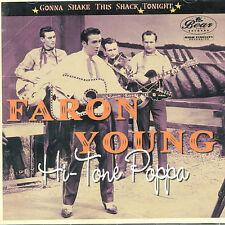 Gonna Shake This Shavk Tonight Hi-Tone Poppa by Faron Young (CD, Oct-2006, 2 Discs, Bear Family Records (Germany))