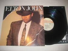Elton John - breaking hearts   Vinyl LP Holland