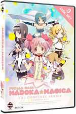 Puella Magi Madoka Magica . The Complete Series Collection . Anime . 3 DVD . NEU