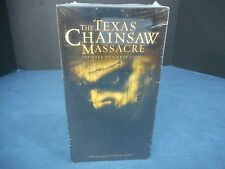Sealed NOS The Texas Chainsaw Massacre (VHS, 2004)