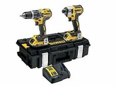 DEWALT Dck266d2 Combi Drill and Impact Driver XR 18v Brushless Kit 2 X 2.0ah Bat
