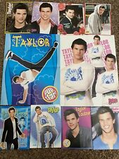 Taylor Lautner Teen Magazine Pinups Posters Clippings Lot Articles
