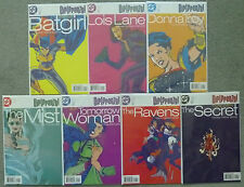 GIRLFRENZY..7 x ONE SHOT SET.BATGIRL/LOIS LANE/DONNA TROY.DC 1998 1ST PRINT.VFN+