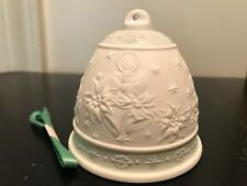 Lladro christmas bell 1992 with original box collectable handmade porcelain