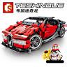 Sembo Bausteine Blocks Sets Bugatti Veyron Rennwagen Sportwagen 422PCS Spielzeug