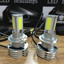 H7 980W 147000LM 3-Sided LED Headlight Kit Low Beam Light Bulbs 6000K High Power
