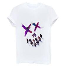 Suicide Squad Killer Funny Women T-shirt Short Sleeve Cotton White Tops Shirt