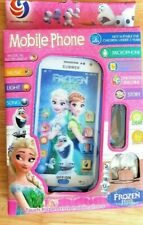 Toy Mobile phone Disney Frozen Smartphone Learning device with headphone