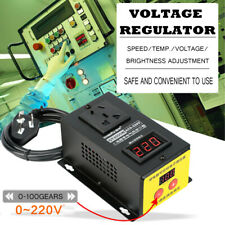 4000W AC 220V Eletronic Variable Voltage Regulator Thyristor Speed