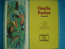 LP CHARLIE PARKER VOLUME III PRESSING USA EVEREST NUOVO SIGILLATO SEALED