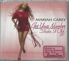 MARIAH CAREY - GET YOUR NUMBER / SHAKE IT OFF 2005 EU 3 TRACK CD SINGLE PART 2