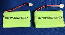 2 batteries(NIMH 3.6V800mAh)For GE 5-2626/2628/2660/2522/2721...Cordless Phones*