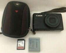 Canon Powershot S95-Black-Includes Case and 16 GB Sandisk Card and Charger