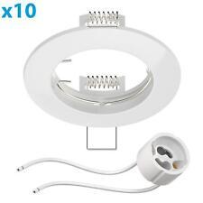 Marco empotrable Circ aluminio marco empotrable blanca (LED/Halogen/GU10/MR16/PA