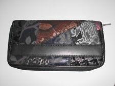 Geldbörse leder +feinsynthetik geldbeutel Brieftasche portmonee Clutch 19x10cm